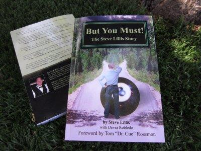 But You Must! Book About Professional Pool Player Steve Lillis